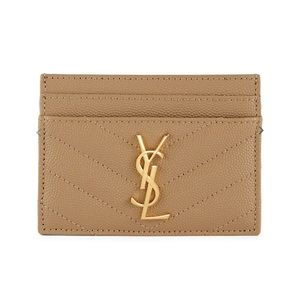 YSL Card Holder with GHW